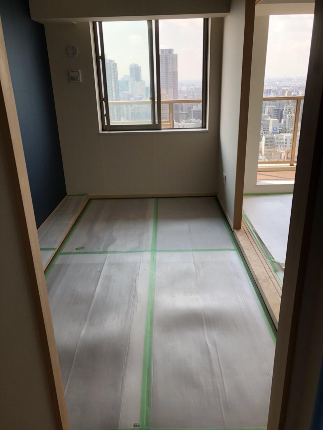 大阪のマンションのリフォーム工事